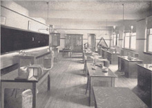 A laboratory of the Department of Physiology; Bulletin of the State University of Iowa, July 1905